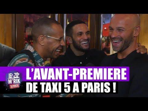 L'avant-première du film Taxi 5 à Paris !