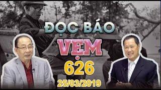 Gambar cover ĐỌC BÁO VẸM 626 phát sóng ngày 25/03/2019 với Hoàng Tuấn và Nguyên Khôi