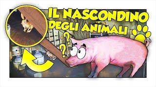 GTA 5 ITA - IL NASCONDINO CON GLI ANIMALI!! w/ Two Players One Console