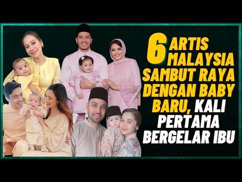 6 Artis Malaysia Sambut Raya Dengan Baby Baru, Kali Pertama Bergelar Ibu