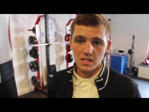 INTRODUCING HIGHLY RATED ADAM BARKER TO THE iFL TV VIEWERS AHEAD OF HIS PROFESSONAL DEBUT