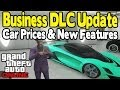 GTA Online - NEW FEATURES & CAR PRICES (Vestra Plane Gameplay) [GTA V Business DLC]
