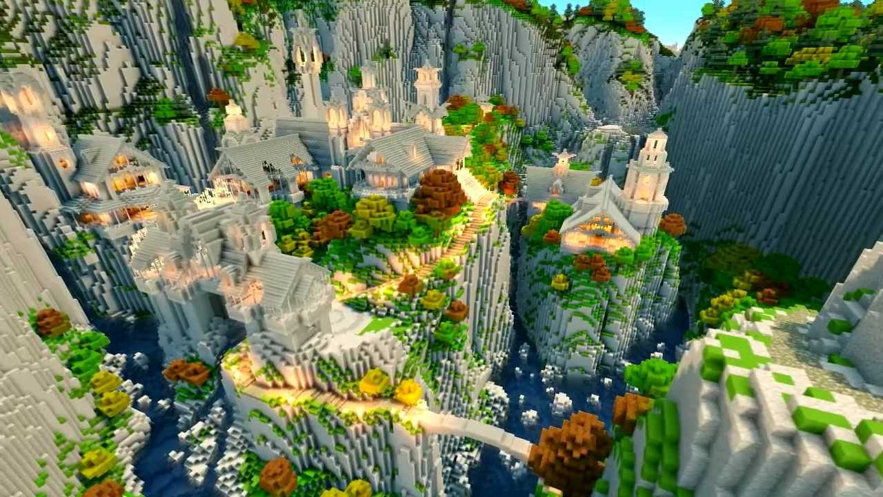 Minecraft middle earth rivendell showcase youtube gumiabroncs Choice Image