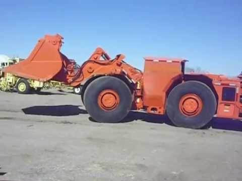 Underground Mining Toro 007 Loaders For Sale Youtube