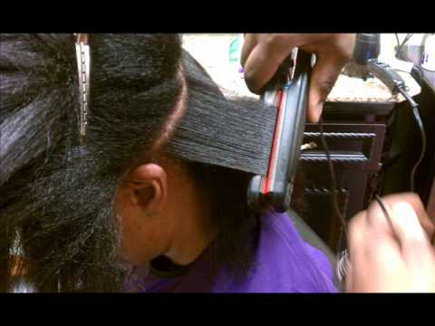 Nouritress Smooth Natural Relaxer Free Straightening System Youtube