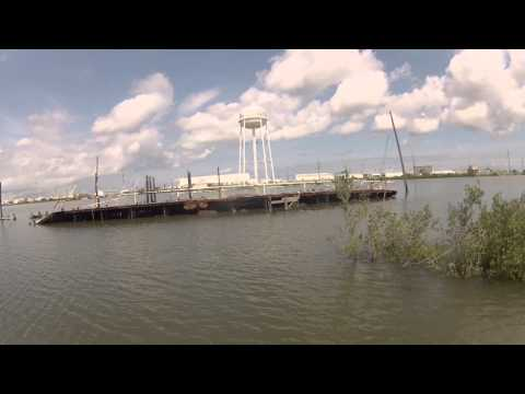 Fourchon, Louisiana Kayak Fishing Redfish and Speckled Trout