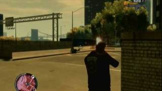 Gta Episodes From Liberty City Police chase[XBOX360]Gameplay
