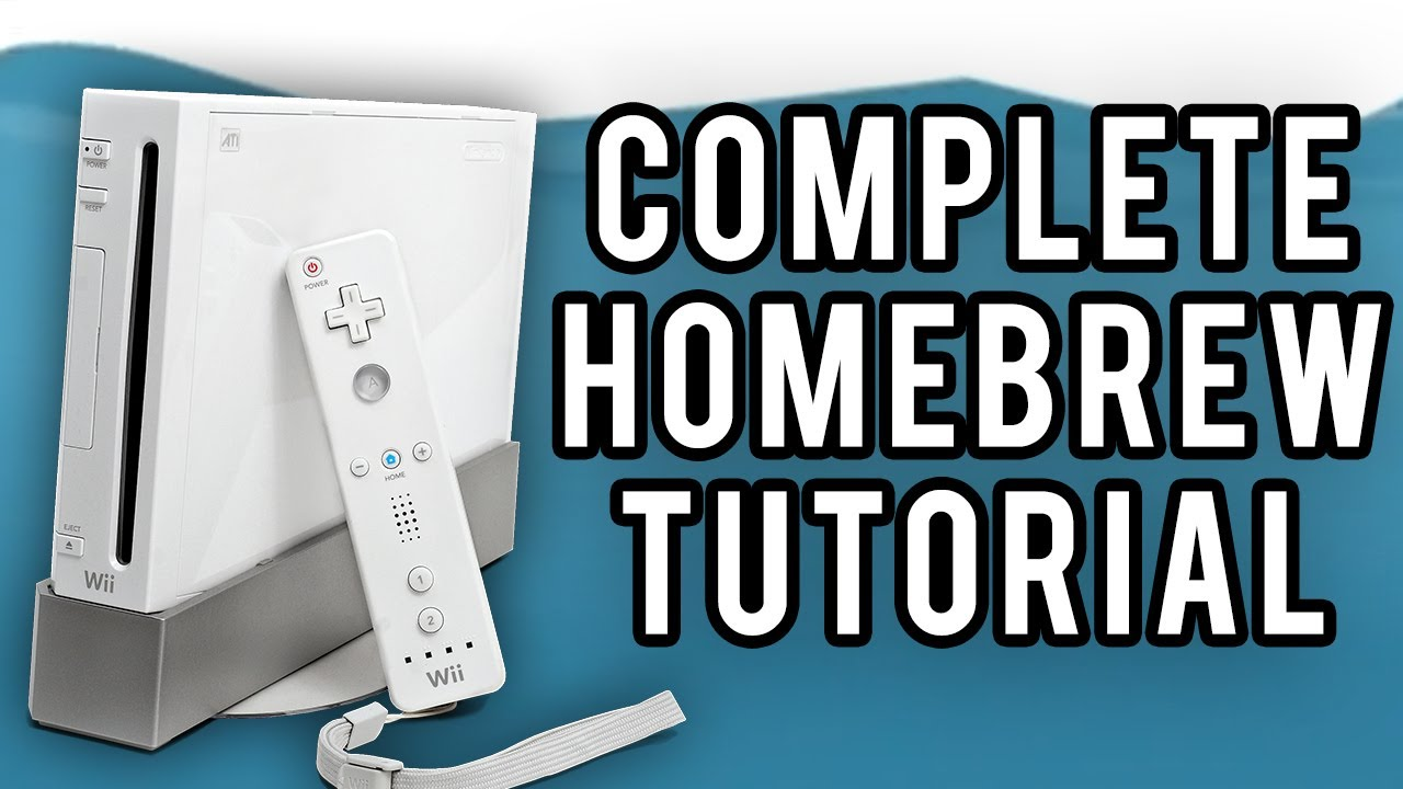 The Beginner's Guide to Wii Homebrewing/Softmodding (Full Tutorial)