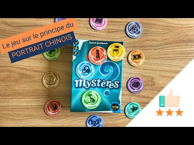 Mystères : Un jeu de mots pour trouver le mot MYSTERE ! Toreview #2-0