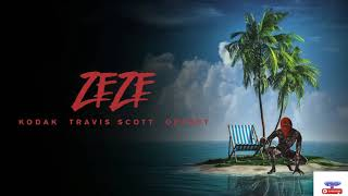 Kodak Black - ZEZE (feat. Travis Scott & Offset)  (Official Audio) December  2018