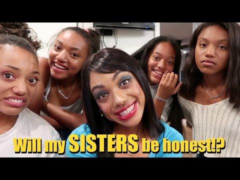 I DID MY MAKEUP HORRIBLY TO SEE HOW MY SISTERS WOULD REACT! (GETS INTENSE!) thumbnail