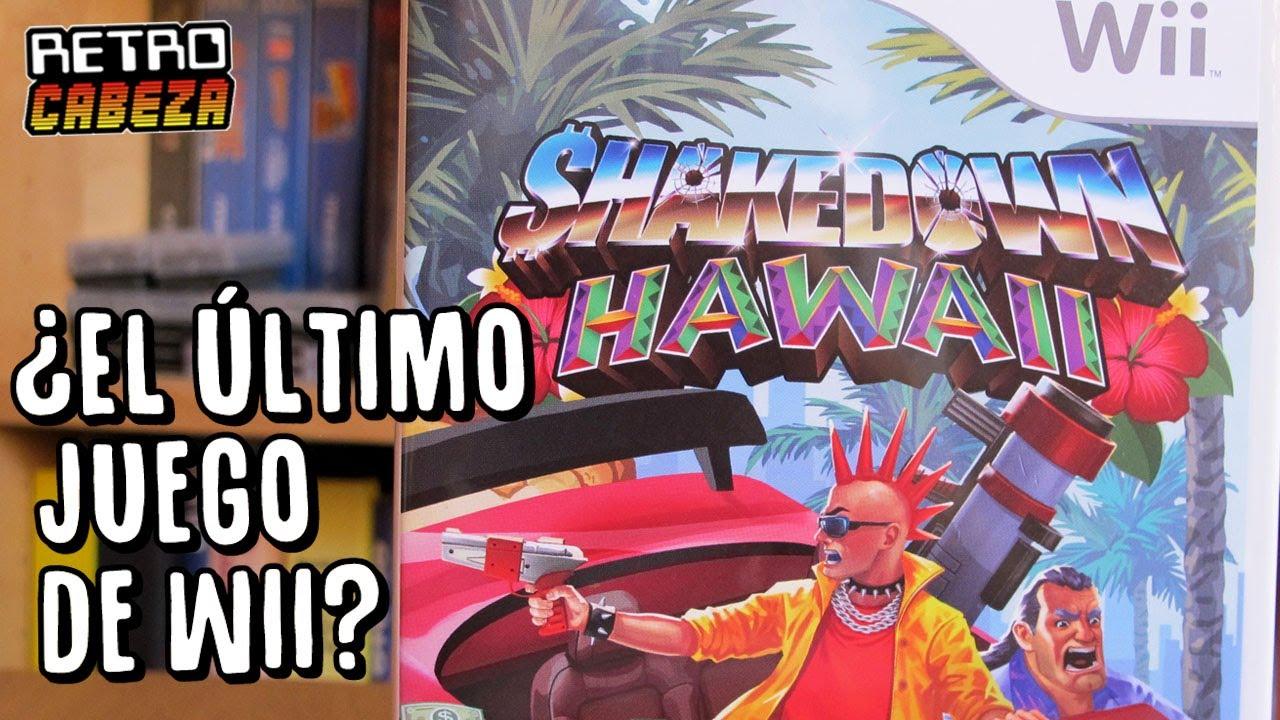 SHAKEDOWN HAWAII - ¿El último juego de Wii?