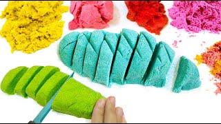 DIY KINETIC SAND   EASY DIY Sensory Toys for Kids