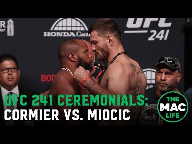 Daniel Cormier vs. Stipe Miocic   UFC 241 Ceremonial Weigh-Ins