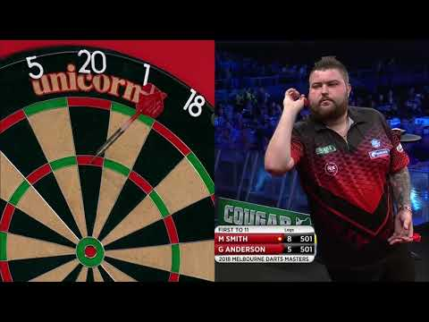 PDC Melbourne Darts Masters 2018 - Michael Smith vs Gary Anderson Part 2/2