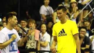 [HD] Jeremy Lin X adidas in Taiwan 林書豪-愛迪達5對5 18.July,2014