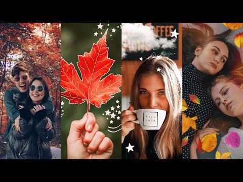4 simple and aesthetic fall photo editing hacks | PicsArt Tutorial thumbnail