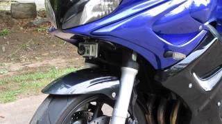 Clearence of GoPro on FZ6