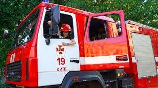 Пожарная машина на вызове. Что пошло не так???  Fire truck on call. Something went wrong???