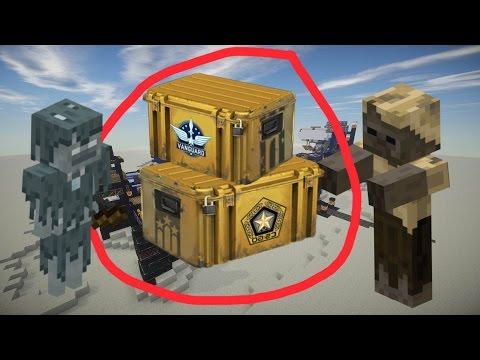 Minecraft Open Case - Crash Landing Server - Пустыня в майнкрафте!
