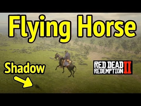 Flying Horse in Red Dead Redemption 2 (RDR2): Pegasus Mode Trick thumbnail