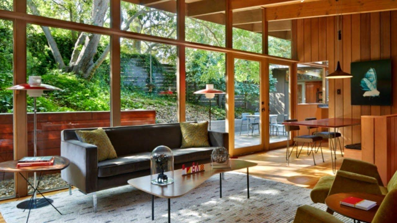 35 midcentury modern interiors youtube - Mid century interior design ...