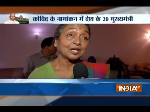 I am happy that I was unanimously selected as Opposition's Presidential nominee : Meira Kumar