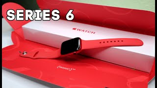 New Apple Watch Series 6 Unboxing & Review!!*Product Red*(44mm GPS+Cellular)