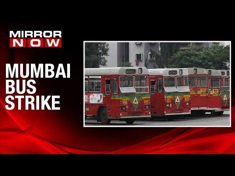 Mumbai: BEST buses go on strike, Demand merger of BEST and BMC budgets