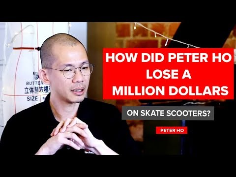 How did Peter Ho Lose a MILLION Dollars on Skate Scooters? | Peter Ho