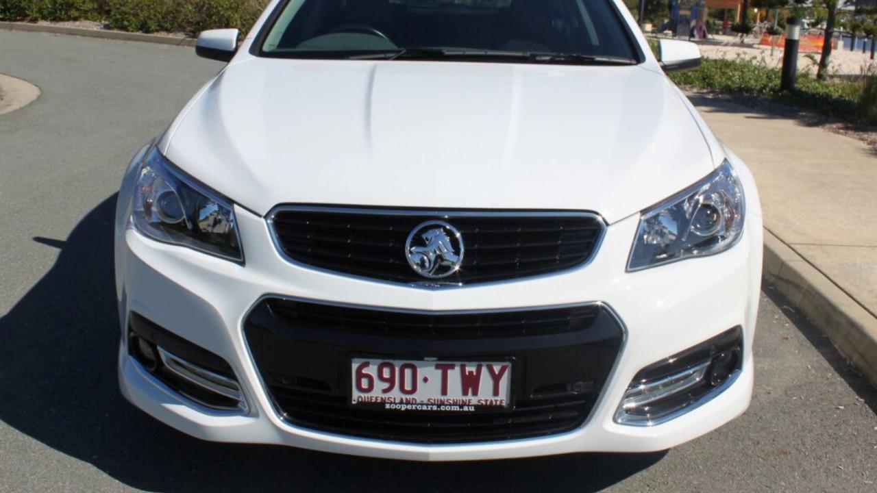 2014 Holden Commodore VF MY14 SV6 Sportwagon Storm Heron White 6
