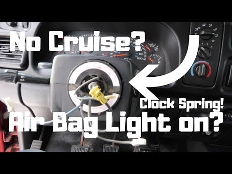 How To:1994-2002 Dodge Ram Clock Spring Replacement