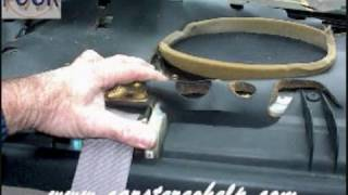 Toyota Camry Rear Speaker Removal