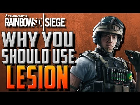 Why You Should Use Lesion in Rainbow Six Siege! (Operation Blood Orchid)