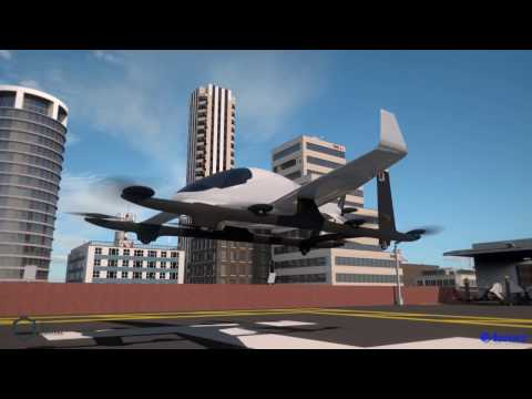 Aurora Flight Sciences' Electric VTOL Aircraft