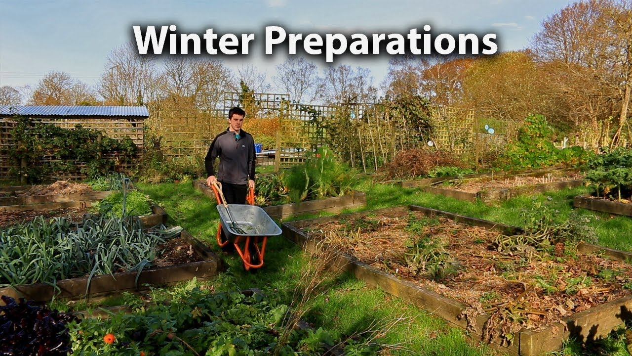 Preparing our vegetable garden for winter youtube - How to prepare garden for winter ...