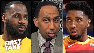 Stephen A. isn't sold on the Jazz being a real threat to the Lakers | First Take