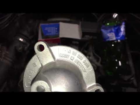 Mercedes-Benz 202 замена термостата