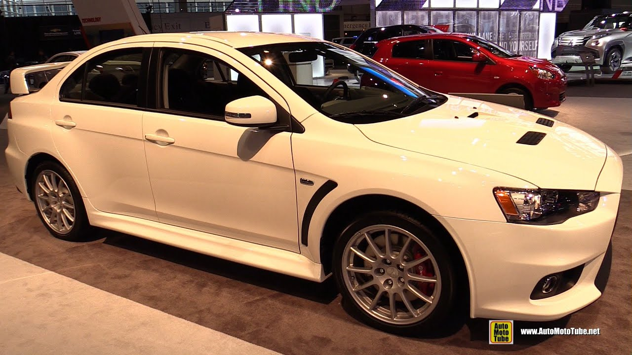 2015 Mitsubishi Lancer Evolution GSR - Exterior and ...