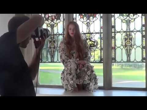 Sophie Turner Sansa Stark interview behind the scenes of the Tatler shoot