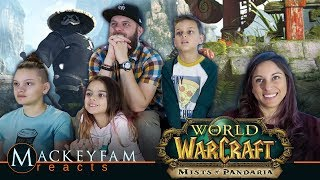 World of Warcraft: Mists of Pandaria Cinematic Trailer- REACTION and REVIEW!!!