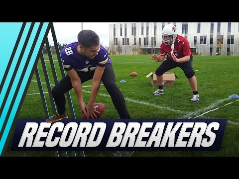 Breaking World Records: Soccer AM does NFL with Tubes & Smithy!