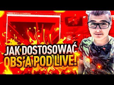 🔴 JAK ŁADNIE DOSTOSOWAĆ OBS'A POD LIVE! 🔴Licznik-Subów,Łapek,Osób/Donejty/Alerty🔴