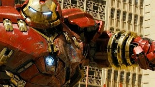 Hulk vs HulkBuster - Fight Scene - Avengers Age of Ultron (2015) Movie CLIP HD