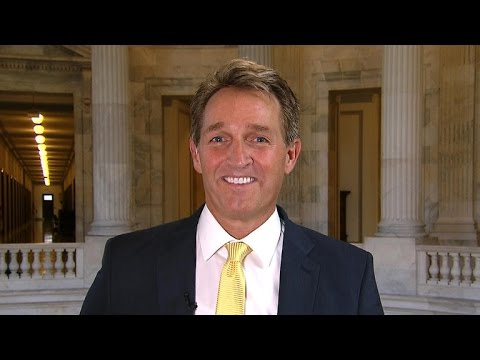 Sen. Flake on Steve Bannon, working with President-elect Trump
