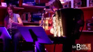 """Concert Dégustation """"Dans la Boite"""" avec Duo Clarc le 5/09/2013 à La Boite à Bretelles"""