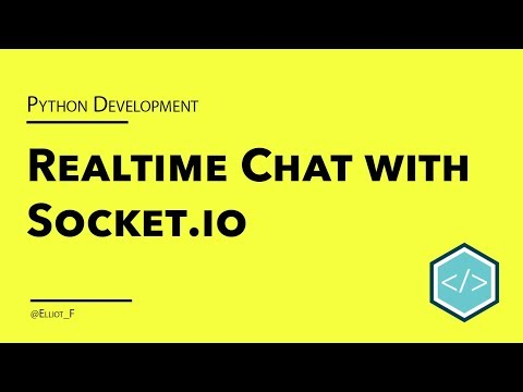 Creating A Realtime Chat Application With Python And Socket.IO