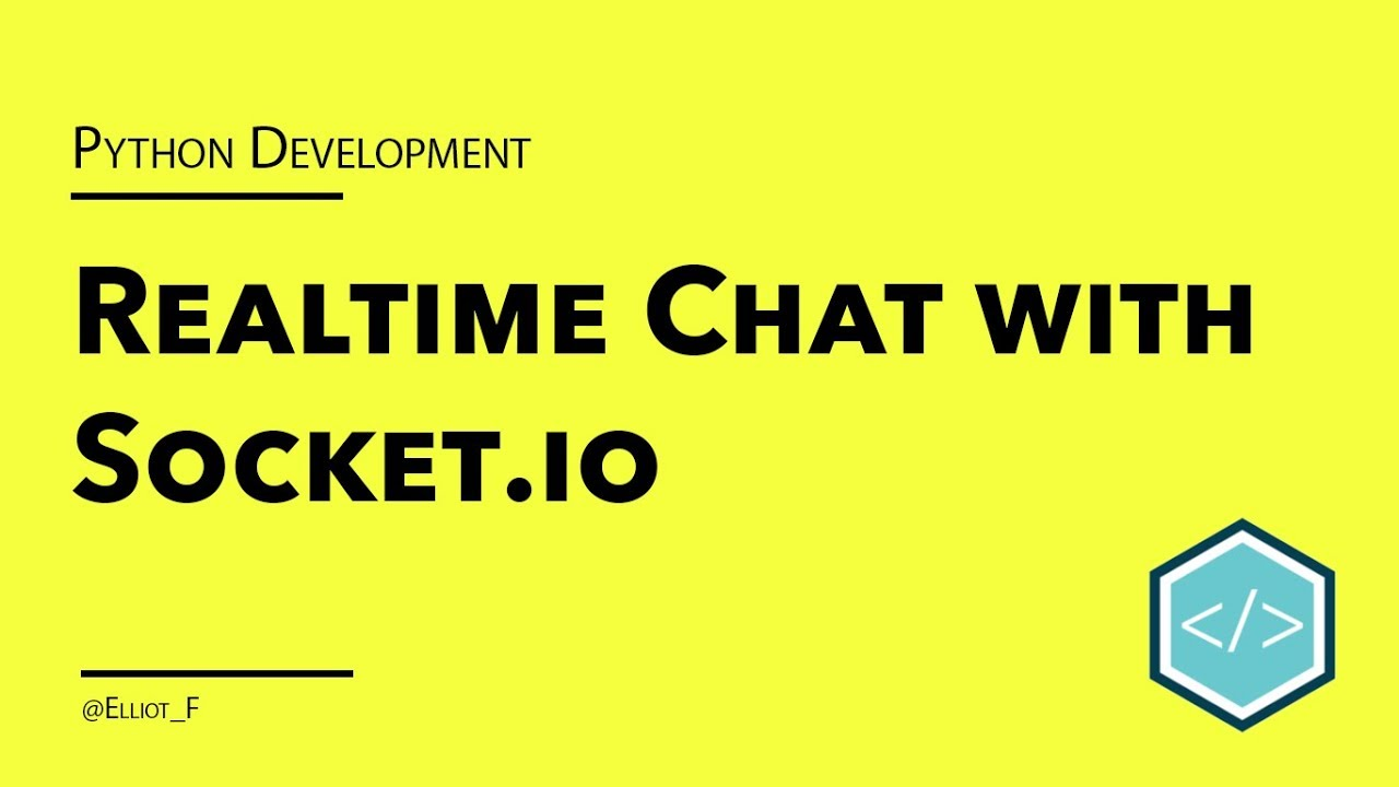 Creating a Realtime Chat Application with Python and Socket IO