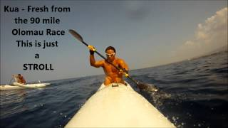 3-17-12 Keauhou Race on my V-10 Surfski