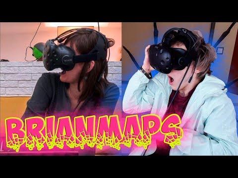 Thebrianmaps Моя Мама Пробует VR Реакция | BrianMaps | Реакция на Моя Мама Пробует Виар | Брайн Мапс